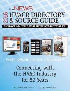 HVACR DIRECTORY & SOURCE GUIDE