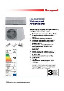 HW-QUICK12E Wall-mounted Air Conditioner