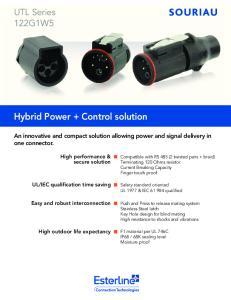 Hybrid Power + Control solution