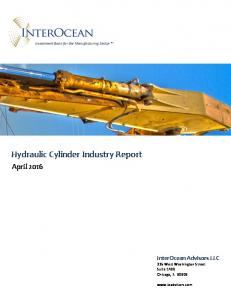 Hydraulic Cylinder Industry Report