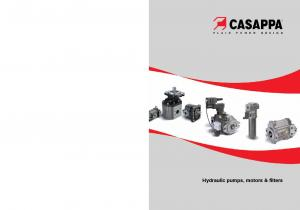 Hydraulic pumps, motors & filters