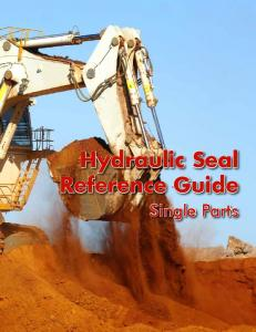 Hydraulic Seal Reference Guide. Single Parts