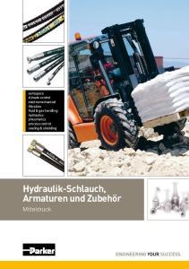 Hydraulik-Schlauch, Armaturen und Zubehör