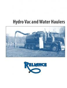 Hydro Vac and Water Haulers