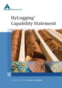 HyLogging TM Capability Statement