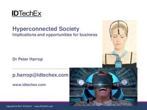 Hyperconnected Society Implications and opportunities for business