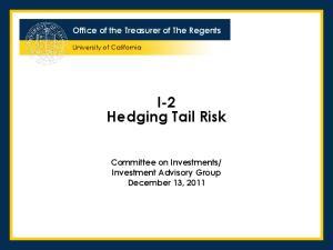 I-2 Hedging Tail Risk