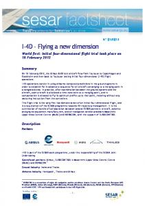 I-4D - Flying a new dimension