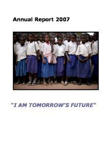 I AM TOMORROW S FUTURE