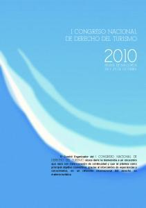 I CONGRESO NACIONAL DE DERECHO DEL TURISMO
