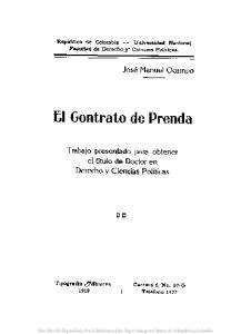 ~I Gontrato de Prenda