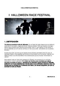 I HALLOWEEN RACE FESTIVAL