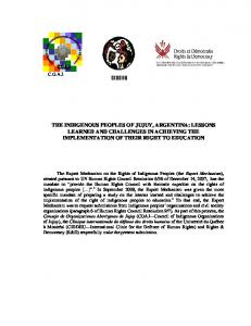 I. INTERNATIONAL LEGAL FRAMEWORK