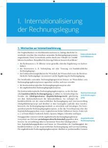 I. Internationalisierung der Rechnungslegung