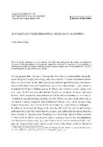 I Journal of Geometry