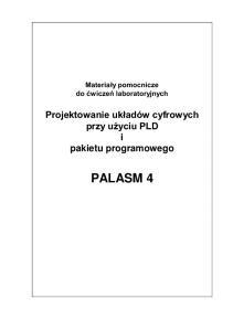 i pakietu programowego PALASM 4