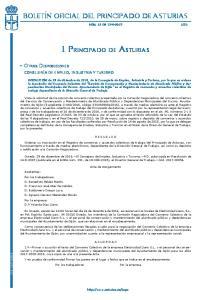 I. Principado de Asturias