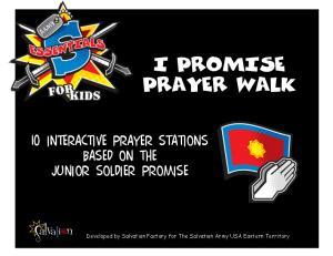 I PROMISE PRAYER WALK