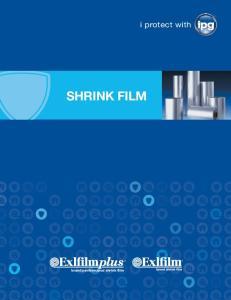 i protect with SHRINK FILM brand shrink film brand performance shrink film