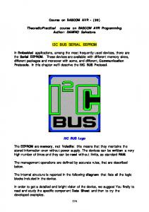 I2C BUS SERIAL EEPROM