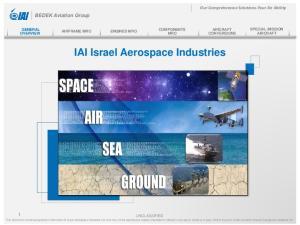 IAI Israel Aerospace Industries