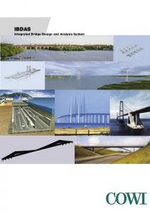 IBDAS Integrated Bridge Design and Analysis System