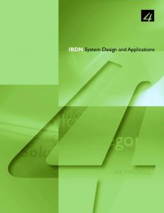 IBDN System Design and Applications