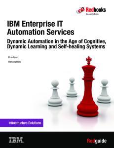 IBM Enterprise IT Automation Services
