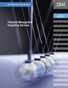 IBM Global Business Services. Financial Management. Consulting Services