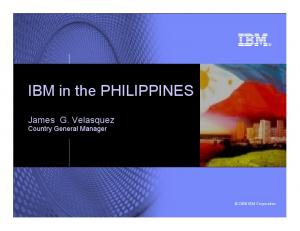 IBM in the PHILIPPINES