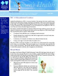 IBS A Misunderstood Condition