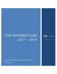 ICAO BUSINESS PLAN