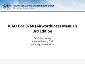 ICAO Doc 9760 (Airworthiness Manual) 3rd Edition
