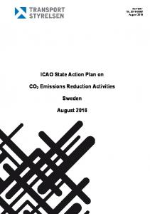 ICAO State Action Plan on. Sweden