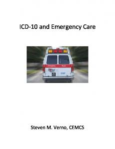 ICD-10 and Emergency Care