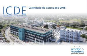 ICDE. International Center for Dental Education