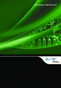 ICN ANNUAL REPORT 2012