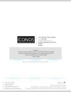 Iconos. Revista de Ciencias Sociales ISSN: Facultad Latinoamericana de Ciencias Sociales