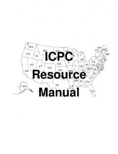 ICPC Resource Manual