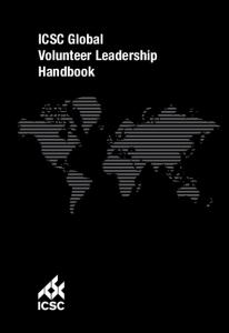 ICSC Global Volunteer Leadership Handbook