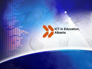 ICT in Education, Albania