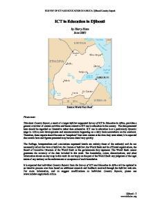 ICT in Education in Djibouti