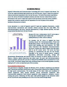 ICT SECTOR PROFILE Communications Infrastructure
