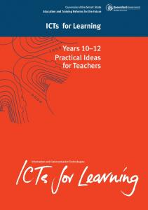 ICTs for Learning. Years Practical Ideas for Teachers