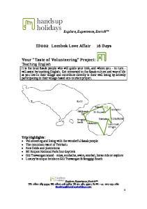 ID002 Lombok Love Affair