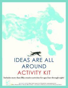 IDEAS ARE ALL AROUND ACTIVITY KIT