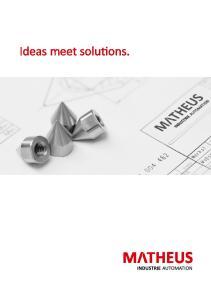 Ideas meet solutions
