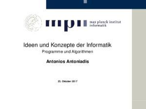 Ideen und Konzepte der Informatik