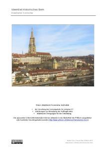 IdeenSet Historisches Bern
