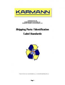 Identification Label Standards